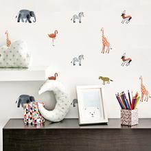 A night in the ZOO! Decorate your kids' room with beautiful Zoo animals colorful wall decals. Non-toxic, environmental friendly Vinyl sticker. Easy to apply and to remove. 24 Decals in 6 Sheets. Baby Wall Stickers, Kids Room Wall Decals, Animal Wall Decals, Room Wall Decor, Nursery Wall Stickers, Rainbow Wall Decal, Wall Colors, Baby Room, Nursery Room