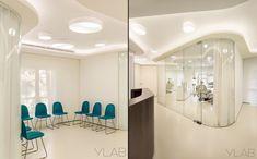 Интерьер стоматологической клиники Valles