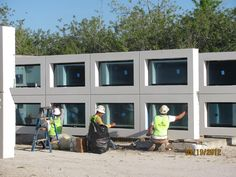 Precast Concrete Wall Systems With Pre Installed Windows at Gate Precast in Kissimmee, FL