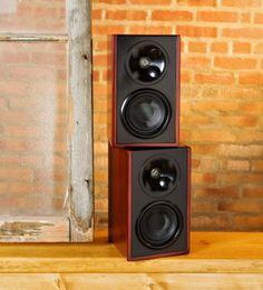 Klipsch WB 14 Icon W Series Furniture Grade Bookshelf Speakers Cabernet Pair
