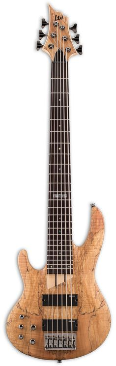 The 6 string version of the popular B-200 series bass guitars by ESP LTD. The B…