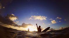 """Live in the sunshine, swim the sea, drink the wild air.""Happy ALOHA Saturday  xoxo"