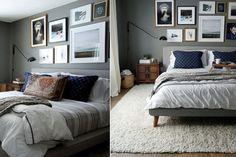 Propuestas para decorar tu cuarto  Para enmarcar el sector de la cama, una buena alfombra que, además, brinda calidez Foto:Hrislovesjulia.com