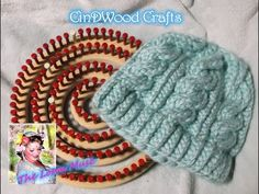 How to Loom Knit a 6 Stitch Right Cable Cross - YouTube