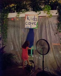 Keep the kids entertained at your wedding with a kids cave