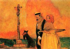 Parella, ca. 1914. Colección Herdeiros de Teresa Rodríguez Castelao
