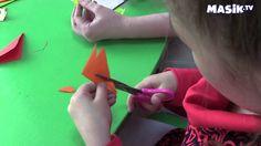 Оригами - веселые рыбки