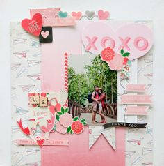 #papercraft #scrapbook #layout   Belongs to you by geekgalz at @Studio_Calico