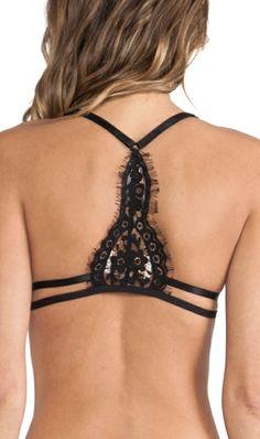 Eyelash lace bra