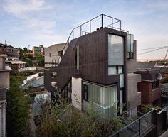 META MAGAZINE | archicake daily - 解決8公尺的地勢差距 首爾建築獎最優秀奬作品