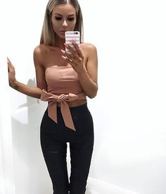 WEBSTA @ tigermist - Saturday night outfit TM babe @lenalenaxx wears the 'Holding On' top