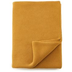 Nkuku Makani Cotton Throw - Washed Mustard (6.205 RUB) ❤ liked on Polyvore featuring home, bed & bath, bedding, blankets, mustard bedding, mustard throw, cotton blankets, cotton bed linen and mustard yellow blanket