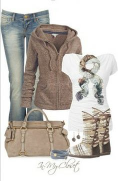 perfect uggs outfit for winter