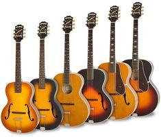 Epiphone lance sa gamme Masterbilt Century de guitares électriques/acoustiques archtop - Audiofanzine