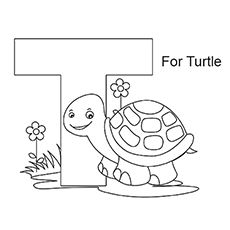 Letter T Coloring Pages Free Printables Coloring Letters and