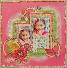Marilyn Rivera -I made this page with the July Limited Edition kit by My Creative Scrapbook....more details...http://marilynrivera.blogspot.com/