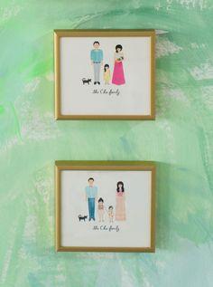 Oh Joy Family Portrait by Rifle Paper Co.