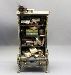 Ladies Armoire by Twylla Charles - Miniature
