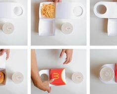 BIG MAC PACKAGING ELIMINATES THE TAKEOUT BAG