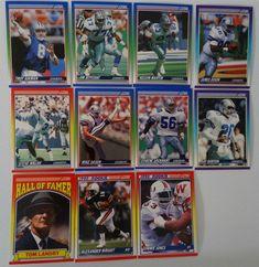 1990 Score Dallas Cowboys Team Set of 11 Football Cards #DallasCowboys Football Cards, Baseball Cards, Dallas Cowboys Funny, Scores, History, Fans, Ebay, Soccer Cards, Historia