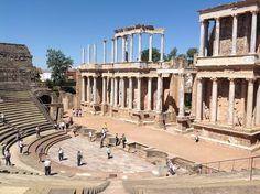 Teatro romano. Mérida. Badajoz. Spain