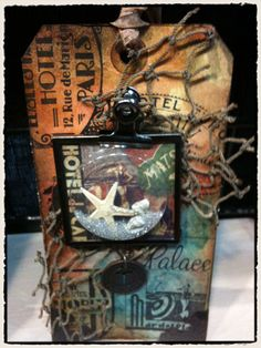 amazing tag by Tim Holtz