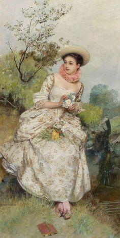 Eduard Charlemont, Untitled, (not dated)