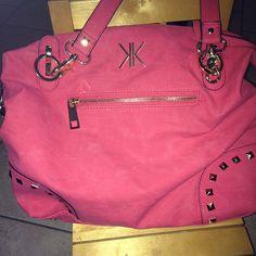 Pink Studded KK Bag