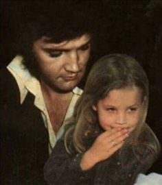 Elvis and Lisa Marie.