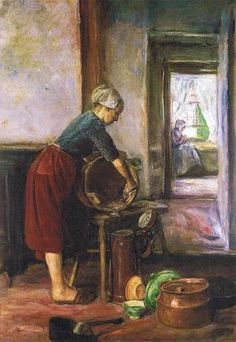 Max Liebermann - In the Kitchen