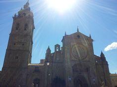 La Colegial. #Talavera #MarcaTalavera Barcelona Cathedral, Building, Travel, Schoolgirl, Viajes, Buildings, Destinations, Traveling, Trips