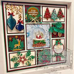 Christmas Sampler using a variety of Stamp Sets, Die-Cuts, Embellishments and Designer Series Papers all from the Stampin' Up 2019 Holiday Catalog. Christmas Cards 2017, Stampin Up Christmas, Christmas Gift Tags, Christmas Countdown, Christmas Decorations, Christmas 2019, Christmas Scrapbook, Holiday Decorating, Christmas Snowman