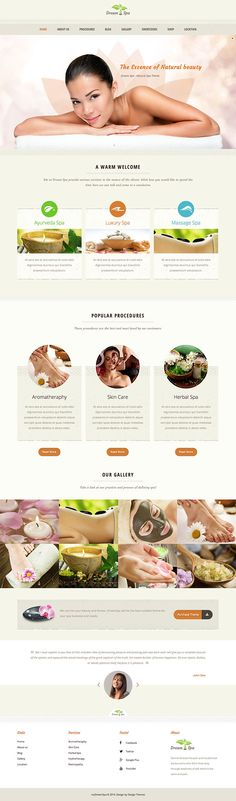 A hand-picked collection of the best WordPress themes for spas, beauty & hair salons, massage parlours, wellness centers and other beauty related websites.
