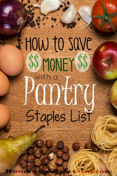 By using a pantry staples list you can save an estimated 125 on your grocery budget Learn how to start your own pantry staples list and start saving your money now Frugal Living Tips, Frugal Tips, Planning Budget, Meal Planning, Financial Planning, Pantry Staples List, Pantry List, Pantry Ideas, Pantry Essentials