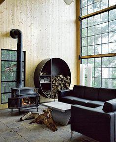 Der Moderne Kaminofen   41 Exklusive Designs   Wohnideen Magazin | Kamin |  Pinterest | Design