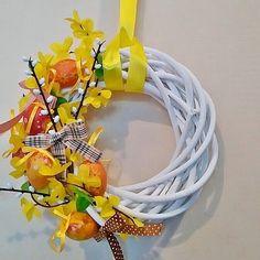 #wreath #spring #handmade #decorations #design #house #wianek #DIY #wiosna #spring #Easter #dekoracje