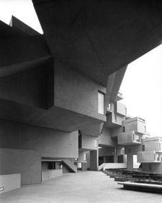 Best Ideas For Architecture and Modern Design : – Picture : – Description Habitat Montreal, 1967 Industrial Architecture, Architecture Details, Toronto Houses, Expo 67, Concrete Interiors, Social Housing, Brutalist, City Lights, Habitats
