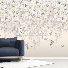 Shop this pretty Sweet Lilies wall mural by Kelly Kratzing. FREE UK delivery within 2 to 4 working days. Photo Wallpaper, Wall Wallpaper, Lily Shop, Wisteria, Designer Wallpaper, Flower Wall, Wall Murals, Floral Design, Photos
