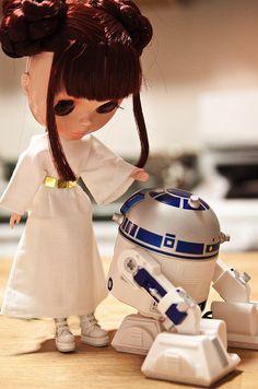 Princess Leia Blythe