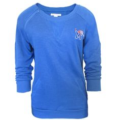 Women's Cutter & Buck® Memphis Tigers French Terry Knit Pullover