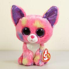 New 2013 Ty Beanie Boos Beanbag Plush Cancun Chihuahua 14cm 5 5