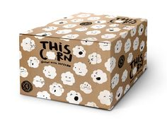 Naming, identity & packaging design for gourmet cattle pop corn by Peter Gregson Studio, Serbia Popcorn Packaging, Packaging Snack, Craft Packaging, Cardboard Packaging, Cool Packaging, Packaging Ideas, Organic Packaging, Carton Design, Design Inspiration