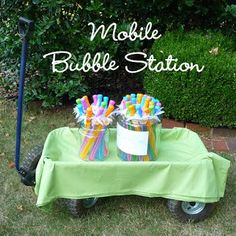 bubble station