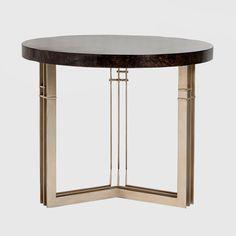 AH Round Side Table - ADRIANA HOYOS FURNISHINGS