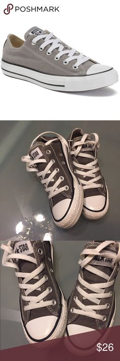 Gray Converse All-Star Unisex w6/m4 Excellent condition, clean, worn very little, classic kicks Converse Shoes Athletic Shoes