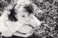 B&W kids photography