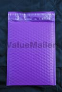 Purple poly bubble mailers