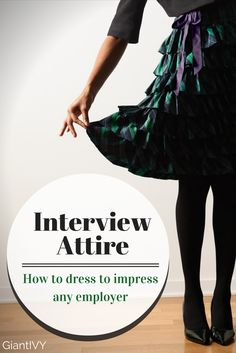 Interview attire is very important since it's the first thing an interviewer will see when you step through the door. Keep in mind that the proper interview outfit highly depends on what company you are interviewing for. But to be safe always overdress than undress!
