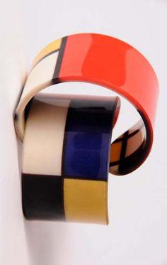 mondrian cuff bracelet