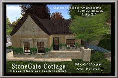 Stonegate Cottage | Coeur Virtual Worlds